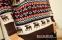 Вязанный свитер с оленями для мужчин  - 3
