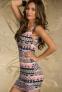 Элегантное лоскутное платье для женщин  - 3