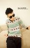 Вязанный свитер с оленями для мужчин  - 6