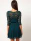 Сексуальное кружевное платье для женщин  - 1
