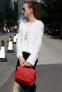 Новая бочкообразная сумка через плечо для женщин - 2