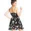Свободное тёмное летнее платье для женщин  - 1