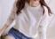 Белая женская блузка в кружева для женщин  - 4