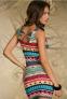 Элегантное лоскутное платье для женщин  - 2