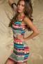 Элегантное лоскутное платье для женщин  - 1