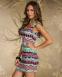 Элегантное лоскутное платье для женщин  - 5
