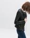 Кожаная куртка бомбардировщик для женщин   - 2