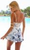 Белое сексуальное кружевное платье для женщин  - 3