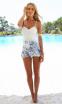 Белое сексуальное кружевное платье для женщин  - 2