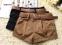 Летние короткие шорты с поясом для женщин  - 1