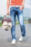 Мужские свободные джинсы для мужчин  - 4