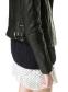 Кожаная куртка бомбардировщик для женщин   - 6
