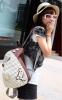Новый женский рюкзак с краской  - 6