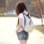 Новый женский рюкзак с краской  - 1