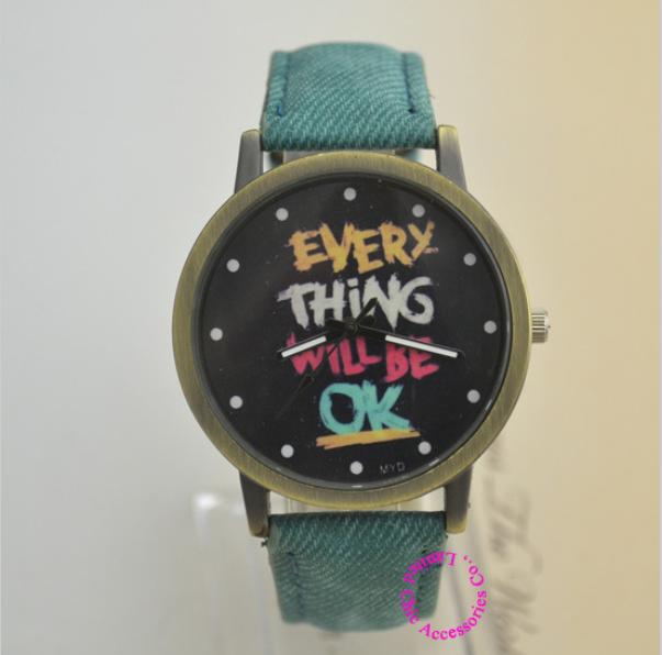 Женщина ткань группа мужчин женщин кварцевые с мультфильм мода женские наручные часы женщина часы каждая вещь будет хорошо часы
