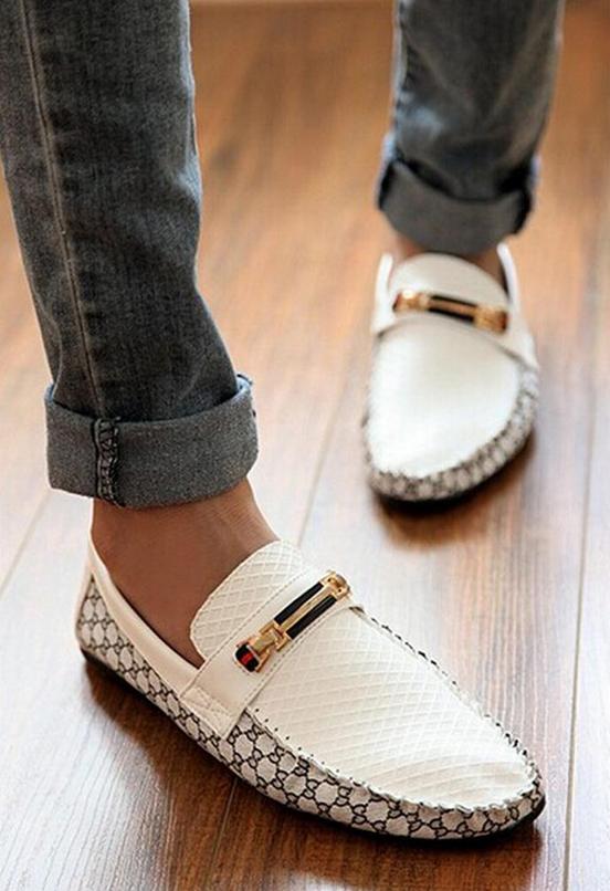 Свободные удобные туфли для мужчин