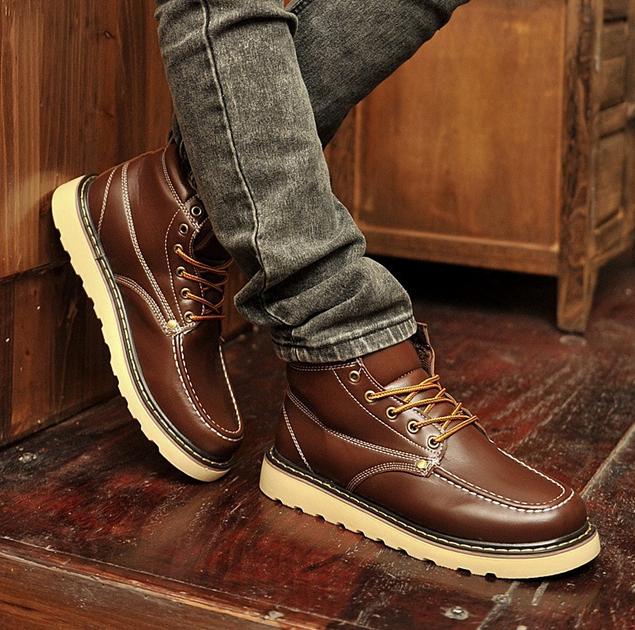 Британские модные ботинки для мужчин