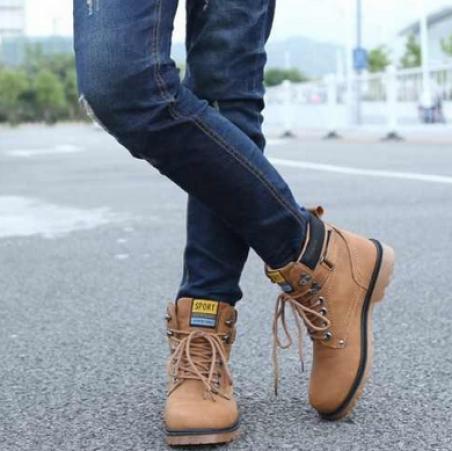Модные мужские ботинки
