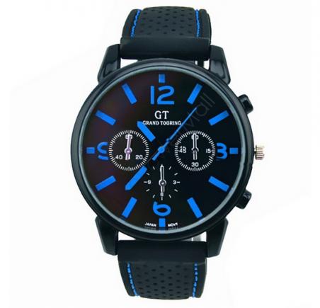 Часы GT 2014 мужчины спортивные часы люксовый бренд силиконовый ремешок мода кварцевые мужчины наручные часы мужские часы B11 SV005253
