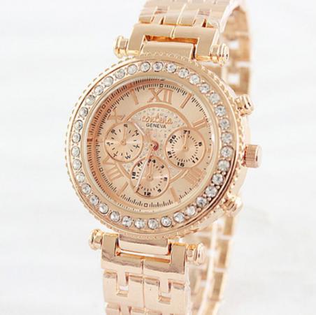 Relogio Feminino мода женщин горный хрусталь часы из розового золота щепка дамы платье кварцевые часы наручные часы часы Reloj женские аксессуары