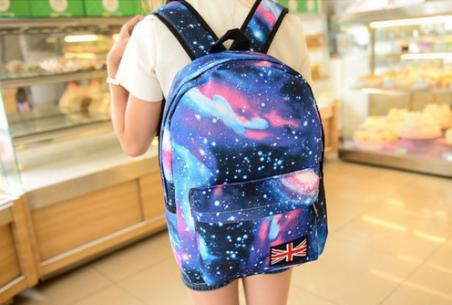 Рюкзак голактический космос вселенной для женщин