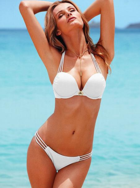 Модный стиль, женский купальник, чёрный белый цвет