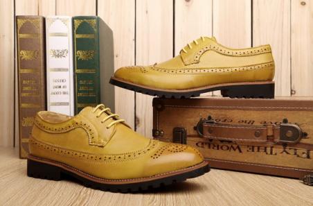Кожаные туфли для мужчин