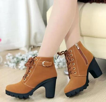 Европейские ботинки для женщин