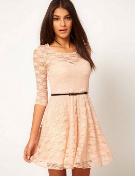 Сексуальное кружевное платье для женщин