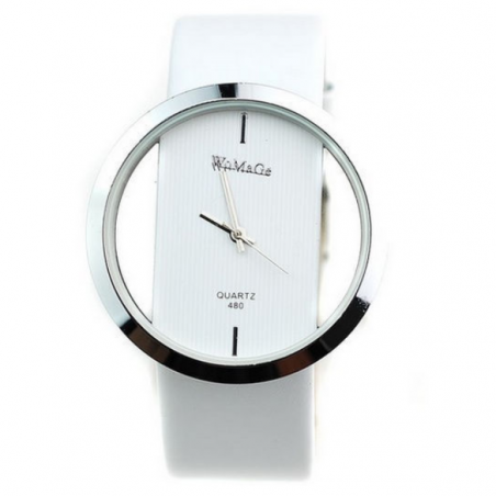 Люксовый бренд платье часы женщин 2014 новинка стиль кварцевые часы высокое качество женская свободного покроя часы бесплатная доставка белый