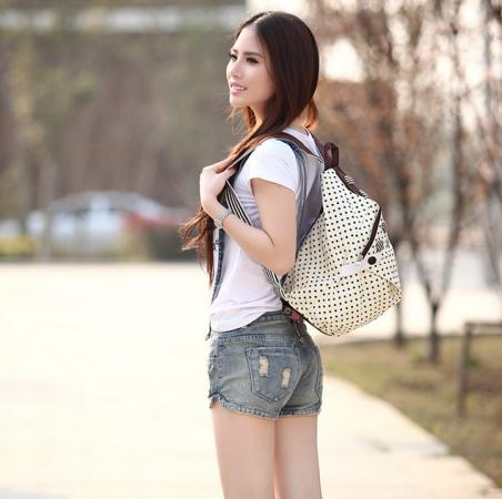 Новый женский рюкзак с краской