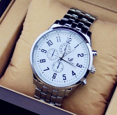 Марка орландо кварцевые часы мужчины бизнес часы три цвета роскошные часы мужа , исполненного стали часы мужской relogio masculino часы