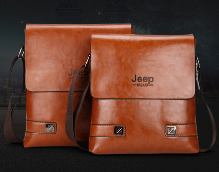 Модная брендовая сумка через плечо для мужчин