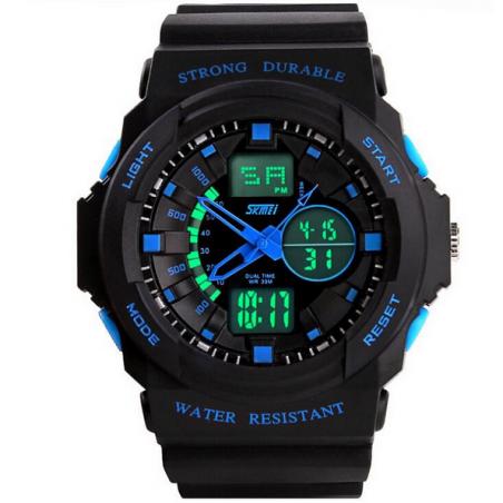 Skmei новый мужские военные часы спортивные часы поясного времени цифровой кварц из светодиодов погружение на открытом воздухе платье наручные часы часы мужчин