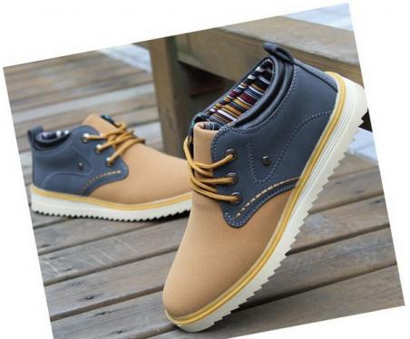 Тёплые мужские ботинки