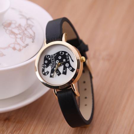 Хиты 2014 дизайн женщин мужчины кварцевые часы мода слон дети мультфильм часы бесплатная доставка