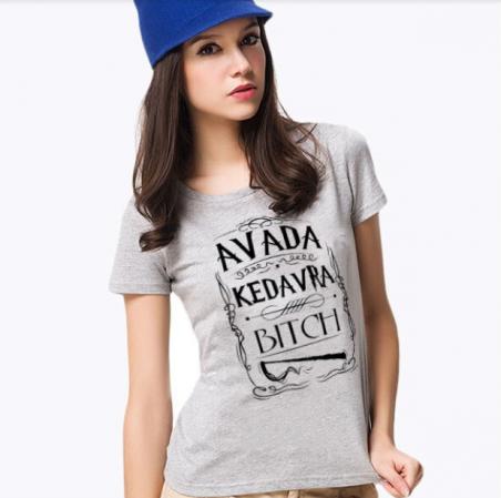 Avada Kedavra женская футболка для девушек