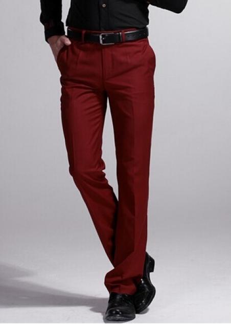 Узкие свободные брюки для мужчин