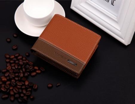 Мужской короткий кошелёк для мужчин