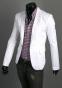 Тонкий стильный бизнес костюм для мужчин