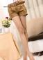 Летние короткие шорты с поясом для женщин